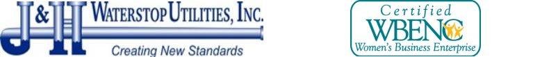 J & H Waterstop Utilities Inc. Logo